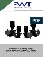 FWT DIAPHRAGM Motor Dosing Pumps ENG Rev1_0215