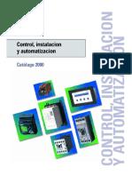 Control Instalacion y Automatizacion Catalogo 2000 Siemens