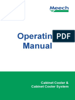 Cabinet Cooler Manual