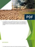 Agotamiento y Degradación de Recursos Naturales