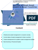 Perspective of Road Asset Management in Asian Countries