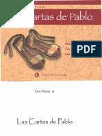 Las Cartas de Pablo- Vanni, Ugo -