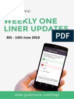Weekly One Liner 8th 14 June 2016 (1)