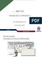 10. Clase Rol Del Médico Dra. Burgos.