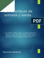 Interfaces de Entrada y Salida de un plc