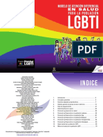 Modelo de Atención Diferencial en Salud Para Población LGBTI