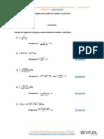 Integrales Por Cambio de Variable o Sustitución