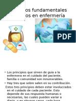 Principios Fundamentales Aplicados en Enfermería