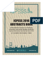 ICPESS Abstract Book 2016
