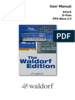 Waldorf Edition Manual En
