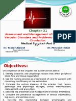 Ch. 6 Vascular Disorder CVS