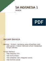 2. Ragam Bahasa