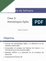 Metodologias Agiles para el desarrollo de software