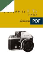 Nikon F - FTn Finder