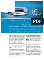 PL HP DesignJet Serie 110plus