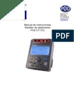 Manual Pce Ut512