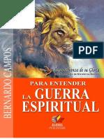 Bernardo Campos Guerra Espiritual-bassel Publishers