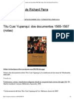 Titu Cusi Yupanqui_ dos documentos 1565-1567 (notas) _ Rose-bud_ Blog de Richard Parra.pdf