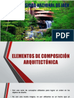 elemetos de composicion Arquitectonica-punto ,linea,plano y volumen