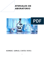 Materiales de Laboratorio