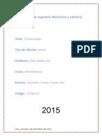 Informe Previo de Osciloscopio (Electrotecnia)