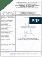 Som-3531 Manual de Procedimientos de Pruebas de Equipo Prim