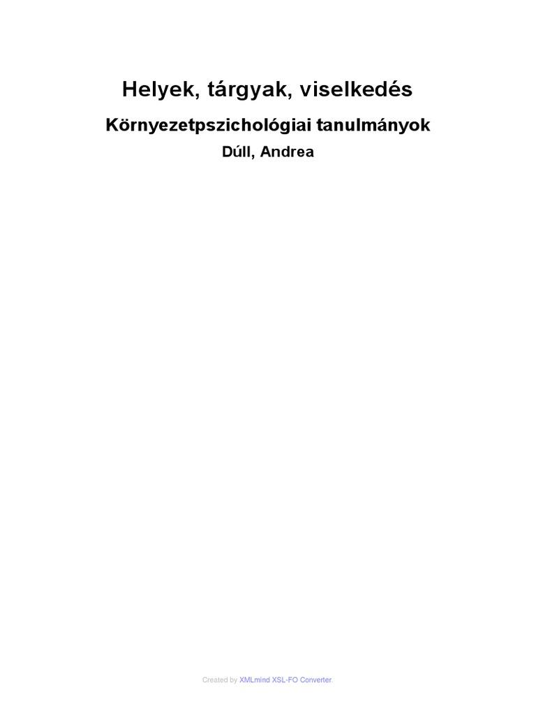 2011 0001 541 Dull Andrea Kornyezetpszichologia b8c255108e