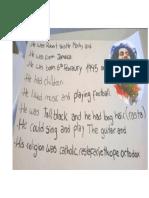 Notice Board Description of Bob Marley