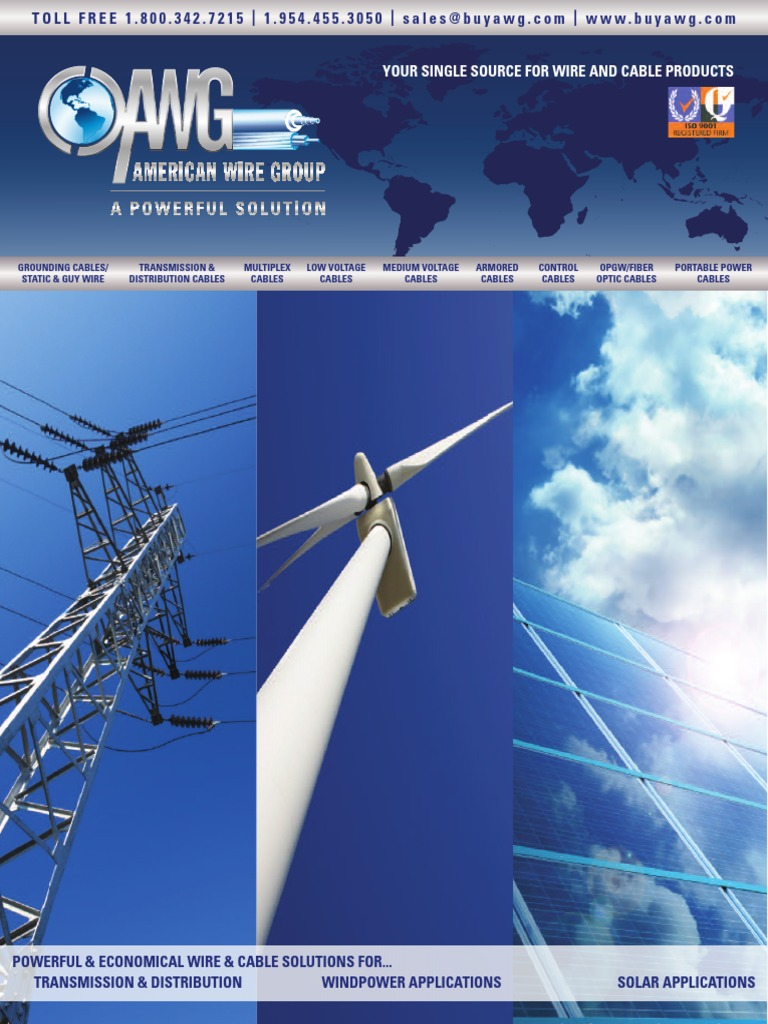 AWG-Catalog.pdf | Electrical Conductor | Cable