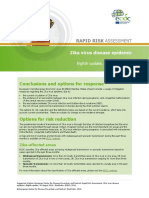 01 08 2016 RRA Eighth Update Zika Virus Americas, Caribbean, Oceania