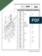 Catálogo de Peças Bt190
