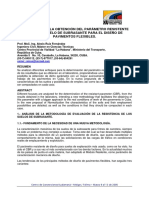 Estudio Sobre La Obtención Del Parámetro Resistente (Cbr) De