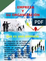 La Empresa y Su Organizacion