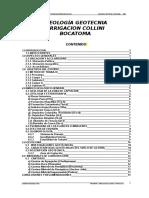 Geología Geotecnia Collini BOCATOMA