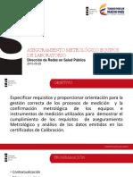 Aseguramiento Metrologico de Equipos de Laboratorios