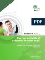 Zika Virus Safety of Substances of Human Origin
