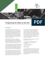 Zika Virus EU Policy Briefing
