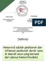 Referat (HEMOROID) Dani