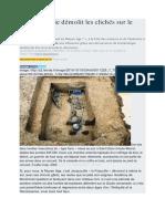 Archéologie Et Le Moyen Âge