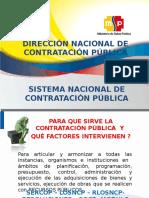 Sistema Nacional de Contratación Pública