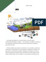 Geografía energias