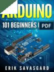 Arduino- 101 Beginners Guide by Erik Savasgard