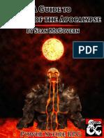 A Guide to Princes of the Apocalypse (10058844)