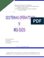 Ensayo Sistema Operativo