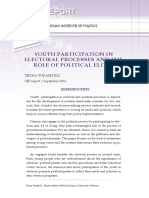 YOUTH PARTICIPATION IN ELECTORAL PROCESSES AND THE ROLE OF POLITICAL ELITES