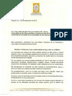 Carta Del Canciller