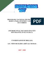 37454135 Informe Final de Participacion Estudiantil
