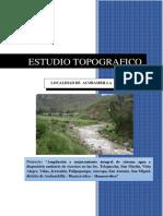 ESTUDIO TOPOGRAFICO