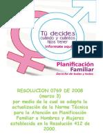 0769 de 2008 Planificación Familiar. (1)
