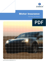 Motor Policy Wording Uae